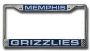 NBA Laser-Cut Chrome Licence Plate Frame