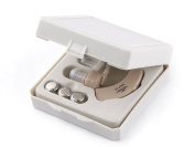 tinxi ® 2x mini hearing aid sound amplifier hearing aid aids sound device with support bracket
