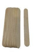 20 Wooden Average Spatulas for Waxing, Body, Sensitive Areas, Body