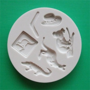 Australia - Silicone Icing Moulds for Cake and Cupcake Decoration
