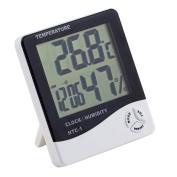 LCD Alarm Clock / Calendar / Thermometer / Humidity Metre