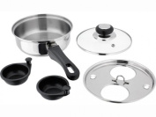 Judge Stainless Steel Induction 2 Egg Poacher