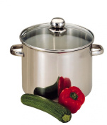 Baumalu - 342655 - Stainless Steel Stockpot with glaslid 30 cm 16 Litre