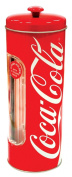 Coca Cola Coke Straw Container with 25 Drinking Straws *Storage*