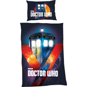 Doctor Who 33.2 x 25.2 x 3.6 cm Single Duvet, Muti-Colour