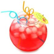 Plastic Cocktail Fish Bowl 3ltr / 18.5cm - Single | bar@drinkstuff Party Fishbowl | Diameter