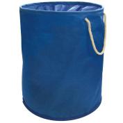 FunkyBuys® Navy Blue Pop-up Laundry Bag Bin Hamper Basket 100% Polyester Storage Washing Bag