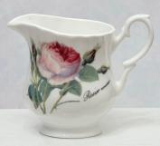 Roy kirkham - Redoute Rose - Cream Jug - Fine Bone China