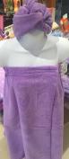 Spa Wrap Towel Wrap One Size Adjustable Lavender