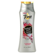Tone Radiant Glow Body Wash, with Diamond Dust & Lotus Blossom, 710ml