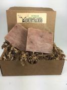 Tobacco Flower Soap - Vegan, Handmade Soaps for Men / 2 Bars