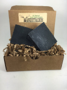 Activated Charcoal Soap - All Natural, Vegan, Handmade Soap, 2 Bars