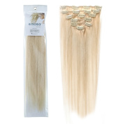 Emosa 100% Real Human Hair Remy Hair Extensions Clip In Extensions