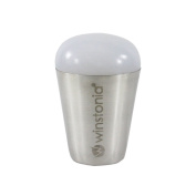 Winstonia Nail-Art Jumbo Stamper Sticky Tacky Soft Marshmallow CLEAR with Scraper Card