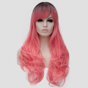 New Women Wigs Lolita Long Curly Synthetic Cosplay Anime Party Hair Wig 9 Colours