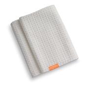 Aquis Hair Towel Waffle Luxe 48cm X 110cm - White