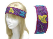 Uni-k Hand Embroidery Flower Pattern Headband Selection