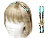 Uni-k Star Fish Deco Beaded Two Layer Head Band Selection