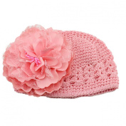 Fullkang Flower Toddlers Infant Baby Girl Lace Hair Band Headband Headwear Hat
