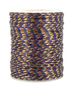 Mandala Crafts® Woven Tinsel Metallic Cord Gift Wrap Craft Trim Ribbon (2mm