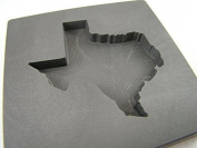 Custom Texas 150ml + Gold Bar High Density Graphite Mould - Copper & Silver 90ml +
