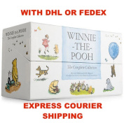Winnie The Pooh - The Complete Collection Book Gift Box Set NEW Hardcover |EXPRESS FROM SYDNEY WITH DHL OR FEDEX EXPRESS | SUPER FAST SHIPPING |