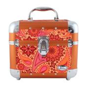Jacki Design Summer Bliss Fashion Train Case, Orange