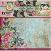 HOTP Mystic Garden Double-sided Paper Pack 12x12 12 Coordinating Papers