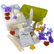 Homemade Melt and Pour Glycerin Soap Gift Kit