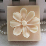 Creativemoldstore 1pcs The Small Flower(zx030) Craft Art Silicone Soap Mould Craft Moulds DIY Handmade Soap Mould