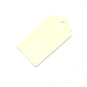 20 Medium Ivory Gift Tags /Hang Tags / Wedding Tags 67mm x 35mm