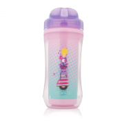 Dr. Brown's Spoutless Insulated Cup, Purple Robot, 300ml