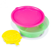 Booginhead Sticky Bowl, Pink/Green