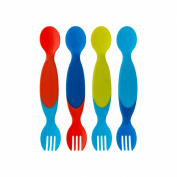 TOMY The First Years Two for One Toddler Utensils