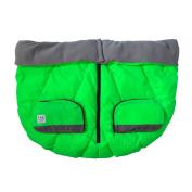 7AM Enfant Duo Double Stroller Blanket, Neon Green