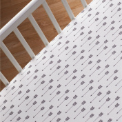 Lolli Living Woods Fitted Sheet, Arrow Print