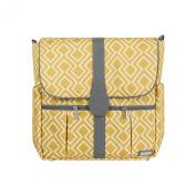 TOMY JJ Cole Backpack Nappy Bag, Citrine Lattice