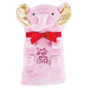 Hallmark Blanket, Pink Elephant