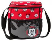 Disney Mickey Sketchy Mini Nappy Bag, Red/Black, Small