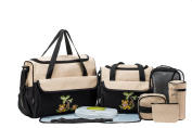 SOHO Collections, 10 Pieces Nappy Bag Set *Limited time offer*