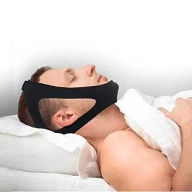 Professional Anti Snore Chin Strap Adjustable- #1 Ranked Device Instant Snore Stopper