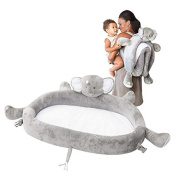 LulyZoo On The Go Toddler Lounger - Elephant