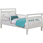 Toddler Sleigh Bed with Mattress