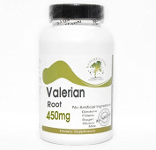 Valerian Root 450mg ~ 100 Capsules - No Additives ~ Naturetition Supplements