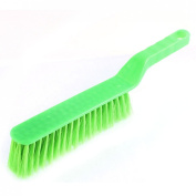 uxcell Plastic Grip Soft Bristle Carpet Bed Clothing Cleaning Brush Green