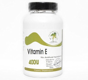 Vitamin E 400IU Non-Oily ~ 100 Capsules - No Additives ~ Naturetition Supplements