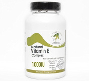 Natural Vitamin E Complex 1000IU Non-Oily ~ 100 Capsules - No Additives ~ Naturetition Supplements