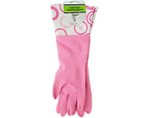 Bulk Buys Bathroom Cleaning Gloves with Nylon Cuffs 30-PK