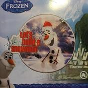Disney Frozen Olaf Let's Build a Snowman 36cm Lighted Window Sculpture Lamp Light