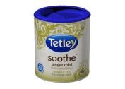 Tetley Soothe Ginger Mint With Lemongrass Herbal Tea Caffeine Free 20 Round Tea Bags